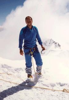 Philippe Herzog au Mont-Blanc