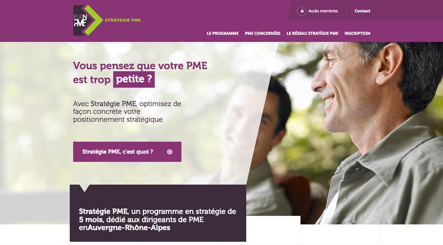 Un nouveau site internet pour Stratégie PME